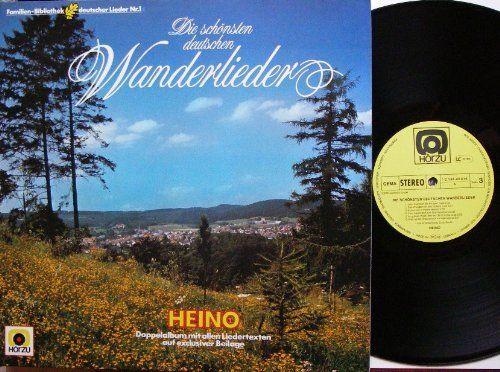 Die schönsten deutschen Wanderlieder / Vinyl record [Vinyl-LP] von Heino.