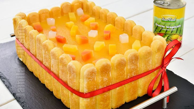 Reteta de tort diplomat cu fructe tropicale este perfecta pentru zilele de sarbatoare in special pentru masa de Anul Nou. Bineinteles ca poate fi pregatit si...