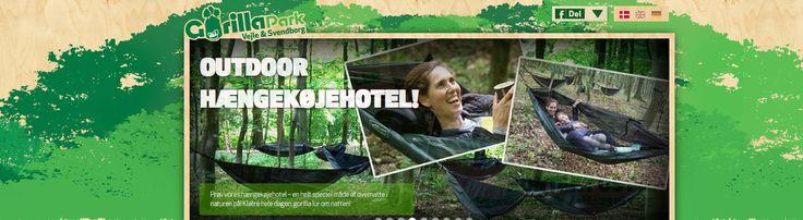 Sommerferie på Fyn. Vi anbefaler at prøver Gorilla Park i Svendborg!