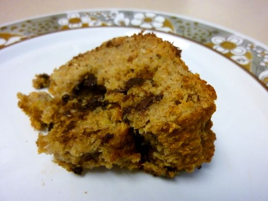 Banana bread made with almond and coconut flour.