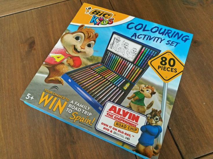 Review + Competition - 80 Piece Bic Colouring Set