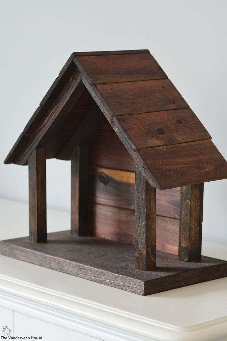 So stellen Sie Ihre eigene Holzkrippe her