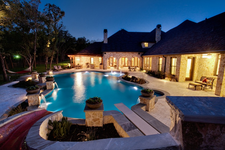 'Silvermist' classic swimming pool design by One Specialty Pools