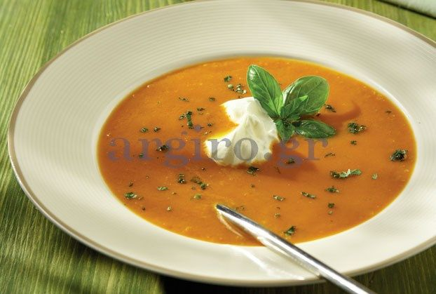 Καροτόσουπα βελουτέ #carrot #soup #recipe