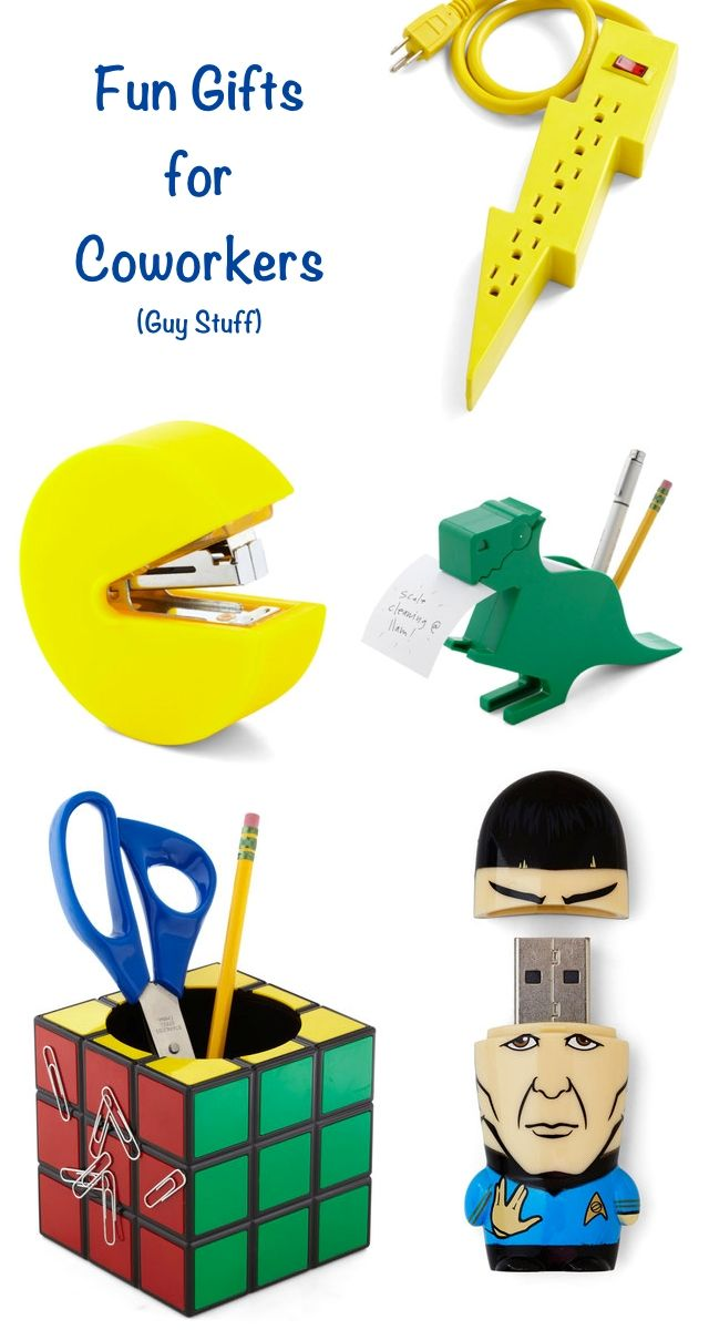 Fun Gifts for Coworkers: Guy stuff