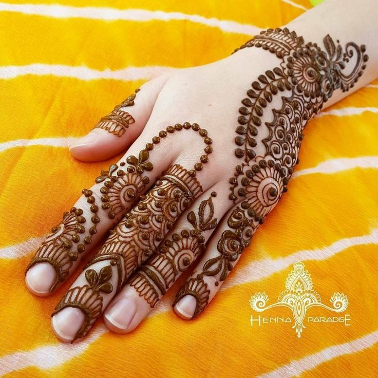 Latest & Best Eid Mehndi Designs 2017-2018 Special Collection