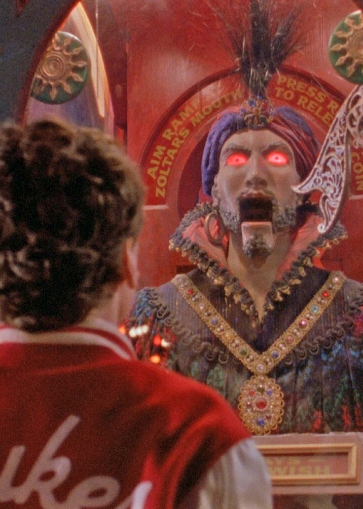 Zoltar in Big (1988) Always wished I had me one of these. Now I want it to go backwards! lol ☺