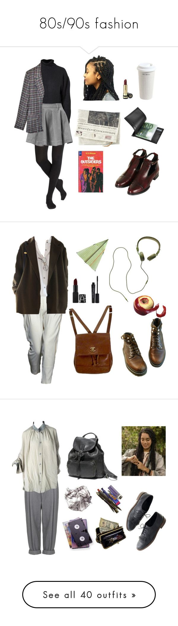 """""""80s/90s fashion"""" by twyzter ❤ liked on Polyvore featuring Joseph, Mr. Coffee, Topshop, Giorgio Fedon 1919, Gucci, Doo.Ri, Madewell, Chanel, NARS Cosmetics and Smashbox"""