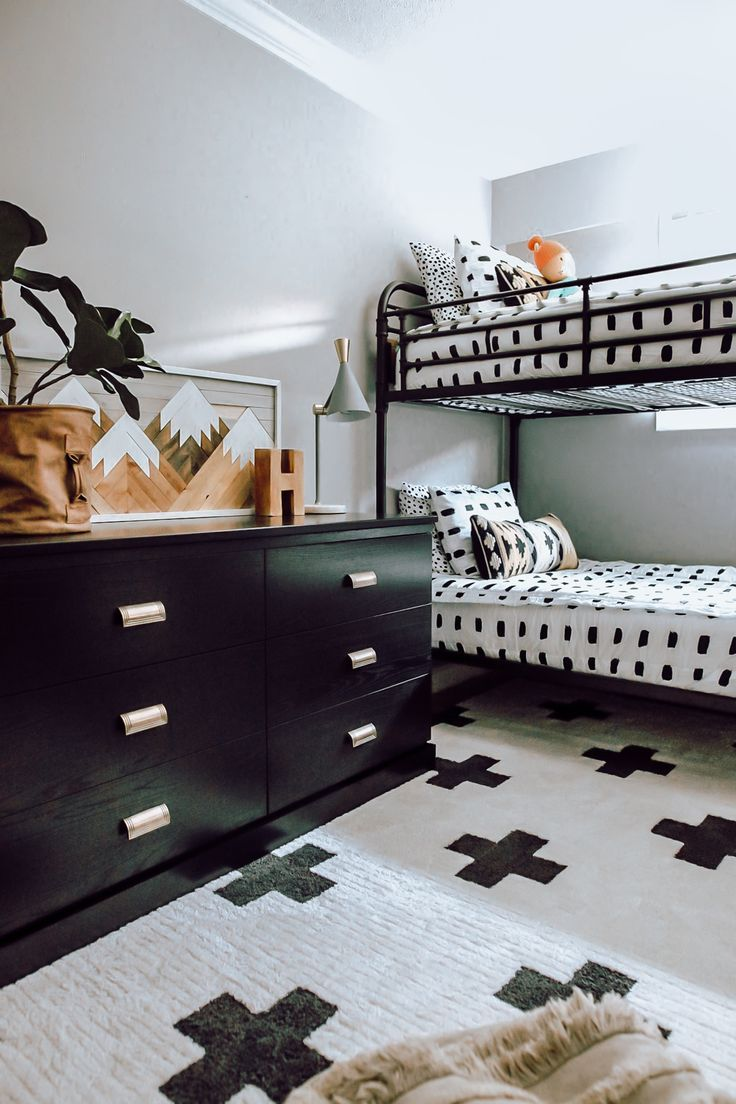 A Tween Forest Wonderland Metal bunk beds, Ikea bed