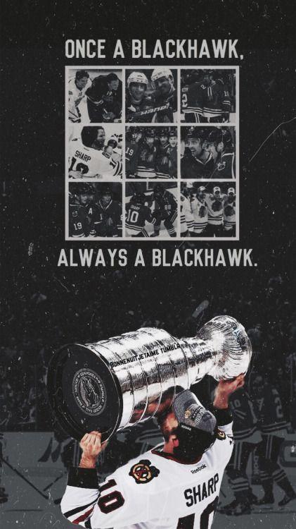 One a Blackhawk, *always* a Blackhawk.