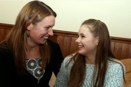 A teenager will experience what life was like for her mother when she was a young girl – by going completely silent for three days. #mentalhealth