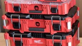 Milwaukee Packout Tool Boxes and Storage System, in Photos