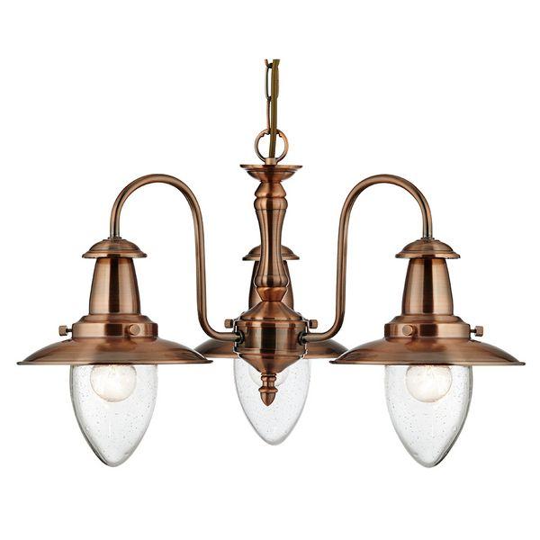 Searchlight FISHERMAN függeszték - 5333-3CO - lámpa, csillár, világítás, Vészi lámpa webáruház
