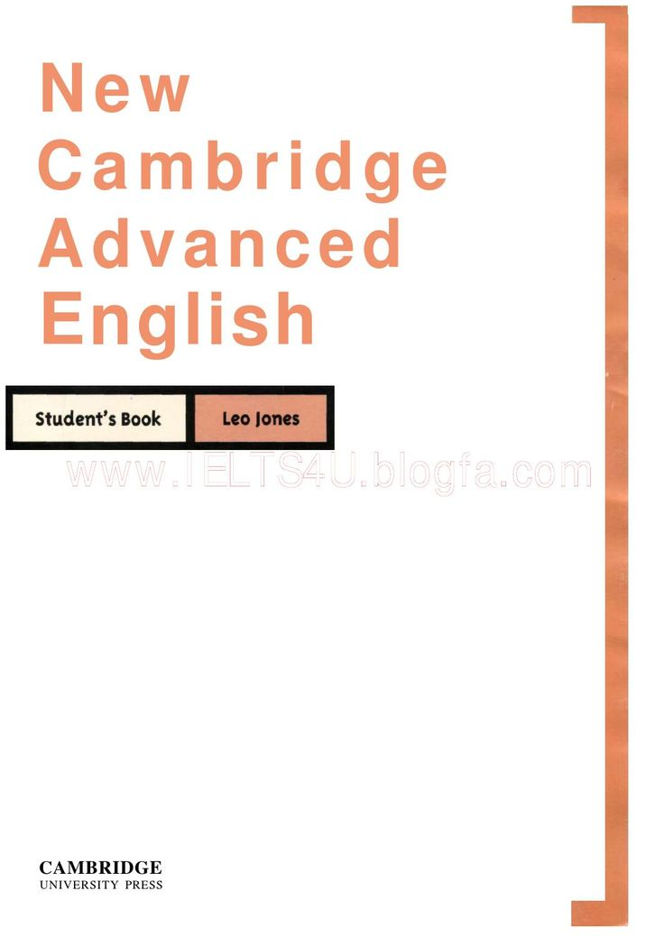 New cambridge advanced english by Pier Roncoroni - issuu
