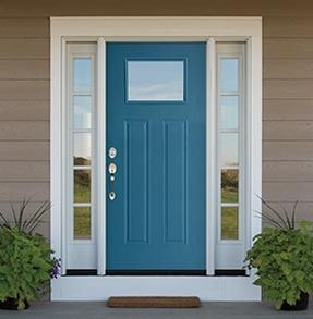 Crank up your curb appeal with the brilliance of Pella's Vibrancy collection of exterior doors. The hard part? Picking a color!