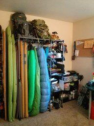 67 Best Gear Closet Ideas Images On Pinterest Garage