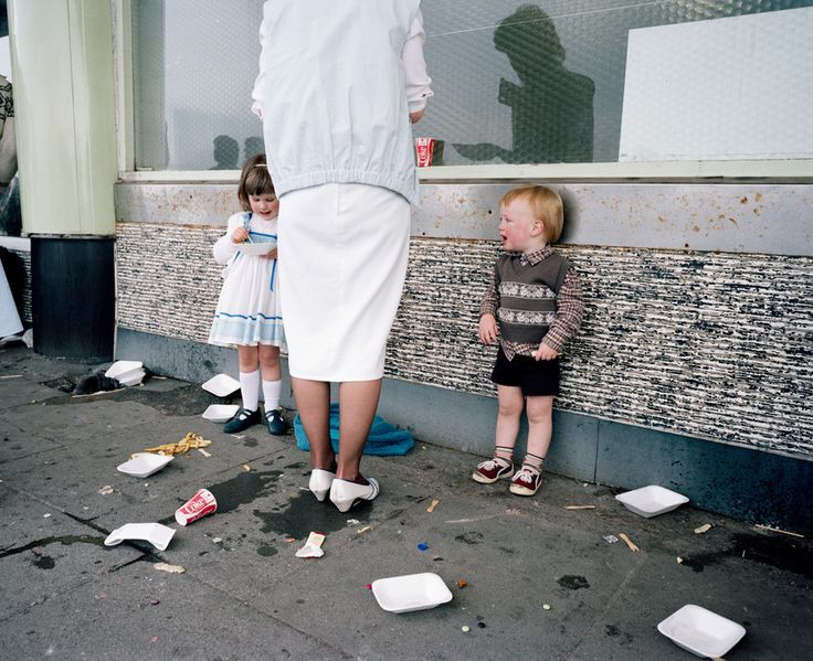 Magnum Photos - Martin Parr GB. England. New Brighton. From 'The Last Resort'. 1983-85.