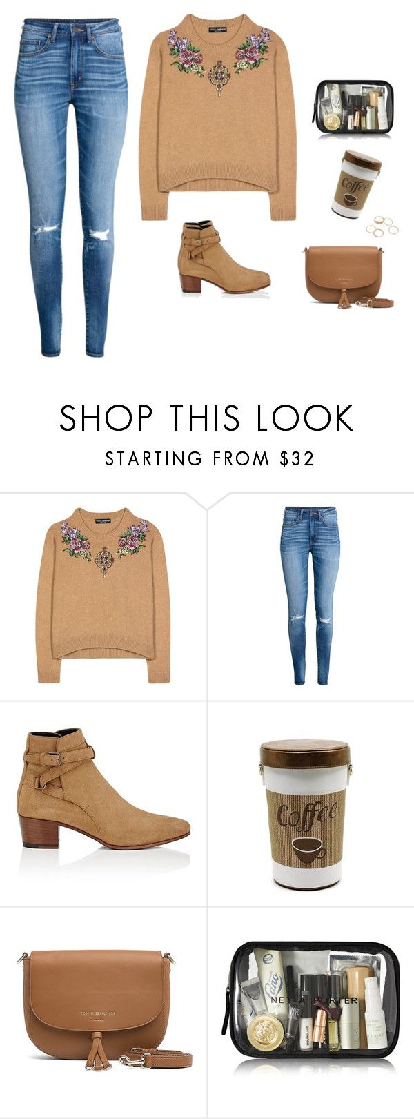 """""""Free time"""" by monika1555 on Polyvore featuring Dolce&Gabbana, Yves Saint Laurent and Tommy Hilfiger"""