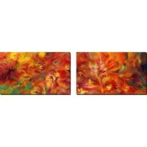 Perfect Mark Lawrence 'The Vision is Yet for an Appointed Time. Habakkuk 2:3' Oversized Wall Art Sets of 2
