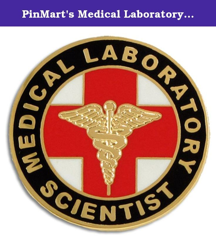 "PinMart's Medical Laboratory Scientist MLS Lapel Pin. This classic Medical Laboratory Scientist (MLS) 1"" lapel pin is jewelry quality with gold plating and cloisonné hard enamel colors. The pin design features the familiar red cross and gold caduceus. Perfect for graduation ceremonies, special medic teams, medical conventions, and for the M.L.S. that deserves special recognition. Each pin includes a clutch back and is individually poly bagged."