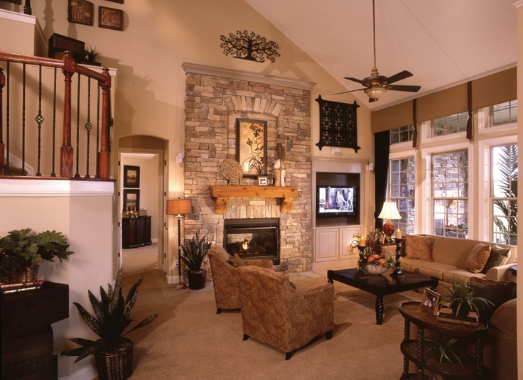 Lucinda living room David Weekly Homes  Elaine Copeland Ebby Halliday Realtors, Referring Agent in Texas @elainehomebuzz