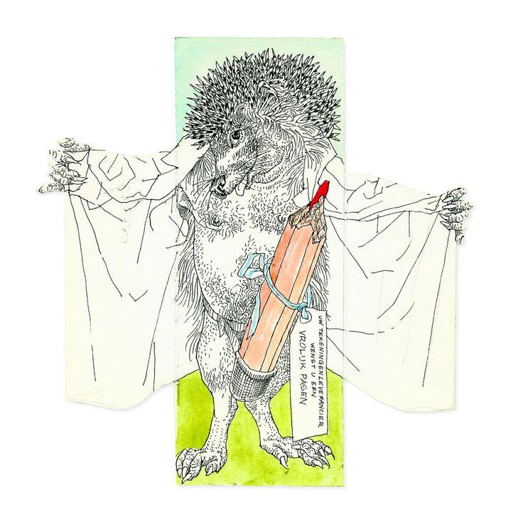 Duizend onbekende brieven met prachtige tekeningen stuurde tekenaar Peter Vos aan geliefdes en vrienden als Renate Rubinstein. Een keuze daaruit wordt nu voor het eerst gepubliceerd in het boek Getekende brieven.