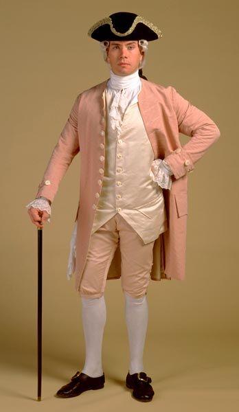 Th Century Rococo Mens Fashion