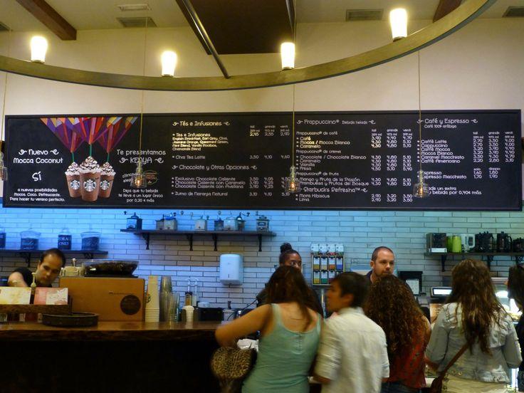 Nuestros nuevos #vinilos para la tienda de Starbucks Palace, en #Madrid. ¿Qué os parece?