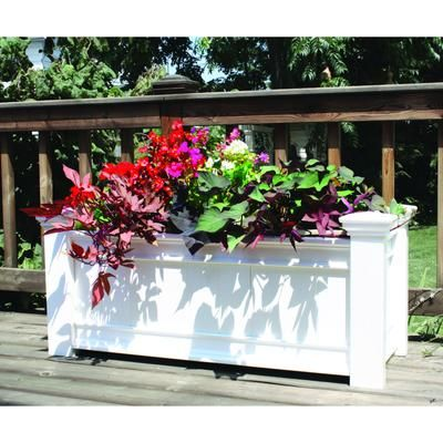 New England Arbors Windsor Long Planter Box VA68214