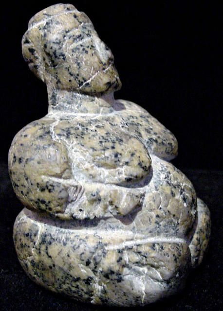 Neolithic Mother Goddess  Syria, circa 4000 BC., no further info