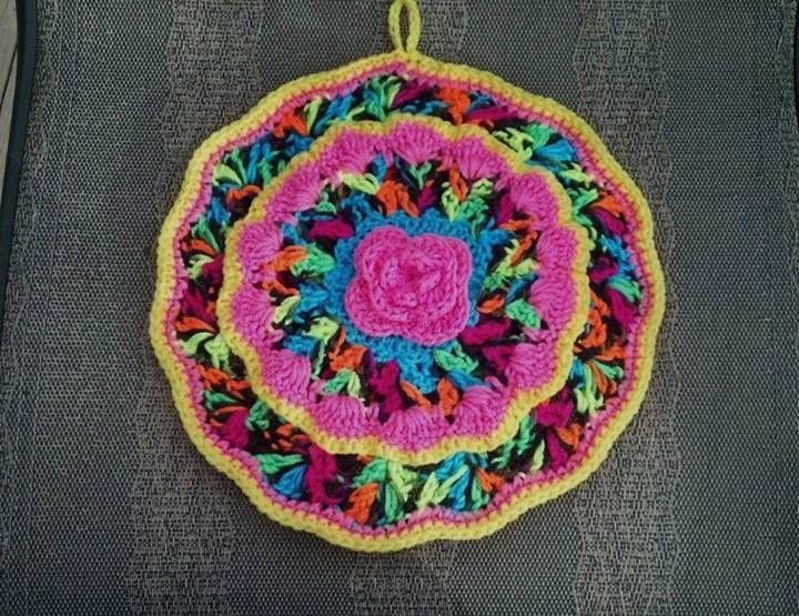 352 besten crochet potholder Bilder auf Pinterest | Topflappen ...