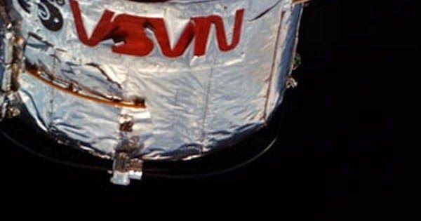 A Nave espacial Discovery grupo tive a sorte de presenciar um do mais brilhante lua cheia a partir da órbita há duas semanas durante a sua missão para reparar o telescópio espacial Hubble