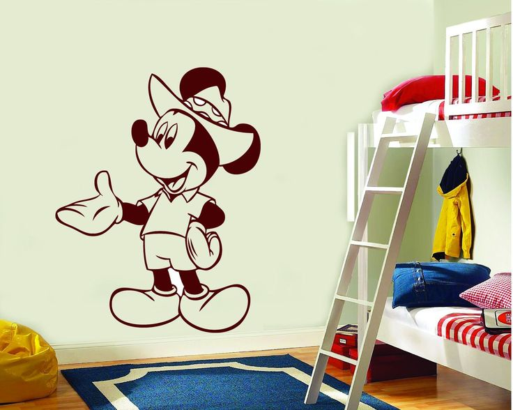 Sticker decorativ Mickey Mouse