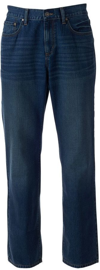 Men's Apt. 9® Relaxed Bootcut Vintage Jeans