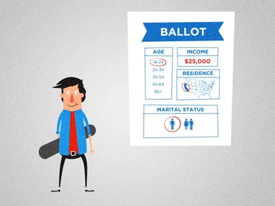 Dribbble - Animation Still - Politify by The Fox And King
