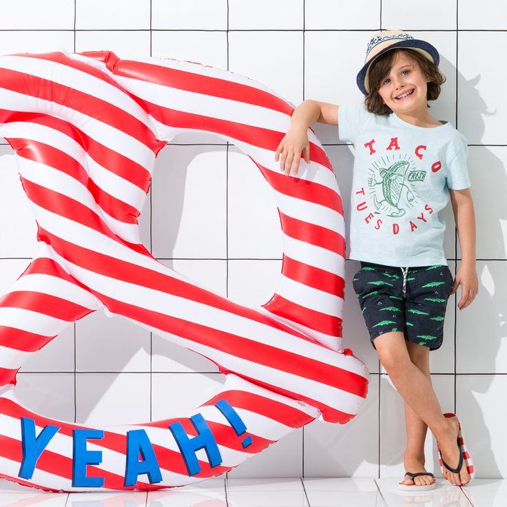 Inflatables as big as YOU! Click the image to shop our GIANT Pretzel and more! #cottononkids #swimrange #inflatables
