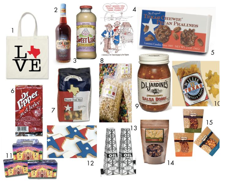 Keely Thorne Events:  Texas-themed gift bag