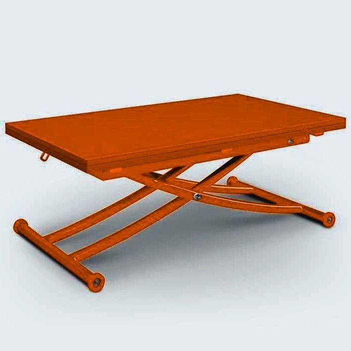Table Basse Relevable Carrera Mat Rouge Di 2020