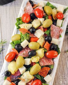 RECIPE: Giada De Laurentiis' Italian Antipasto Salad
