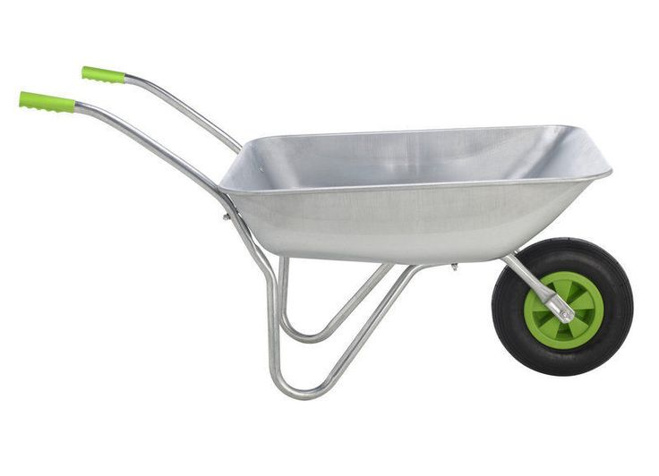 Modern Wheelbarrow Garden Keter Tool Outdoor Heavy Duty Patio Choice Galvanised