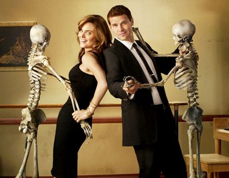 Bones started in 2005:  A forensic anthropologist and a cocky FBI agent build a team to investigate death causes.  A little too technical but still a good show to watch.