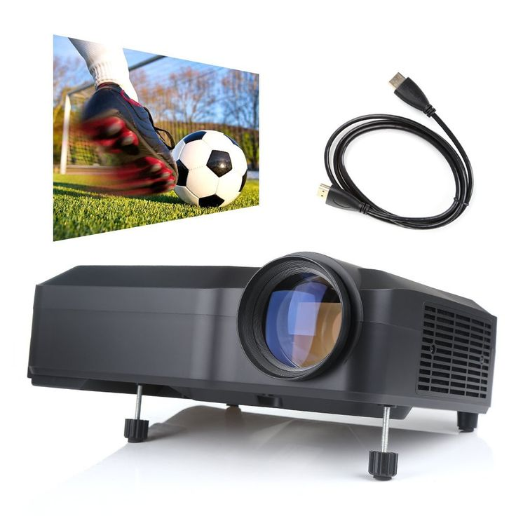 Amazon.com: Projector, Discoball Video home HD Projector 2800 Lumens 1280*768…