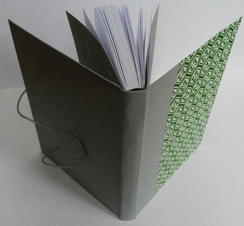 Handmade notebook Material: canvas, yuzen washi origami paper