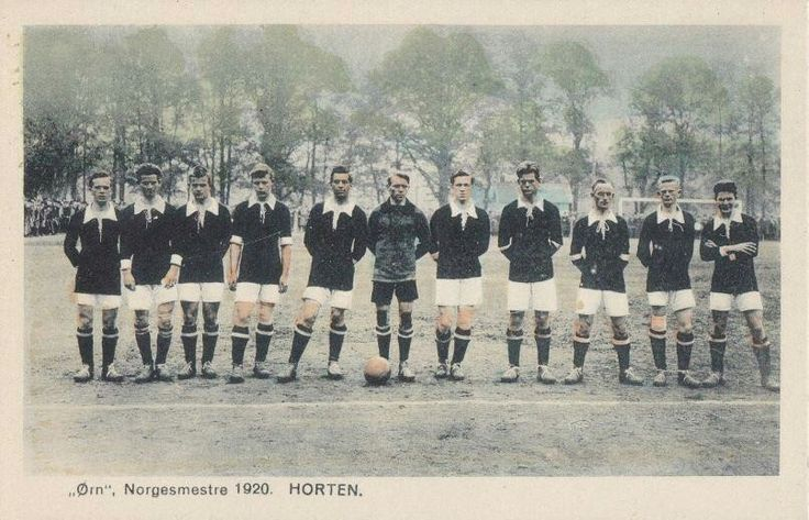 Ørn Horten Norgesmestere i fotball 1920