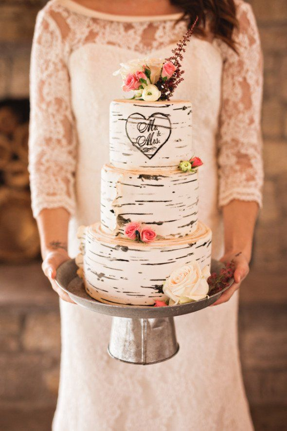 how to make a rustic wedding cake best 25 birch wedding cakes ideas on wedding 15833