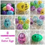 Learning Games Using Plastic Easter Eggs - 8 educational games using Easter Eggs that you can use to help your child master math and reading...