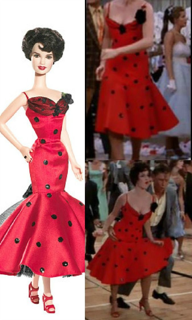 Rizzo Red Dress Grease Grease ♧ Pinterest Red And