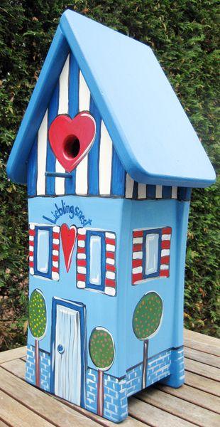 Nistkästen & Vogelhäuser - Vogelvilla  - Vogelhäuschen - Nistkasten - ein Designerstück von marenschmidt bei DaWanda