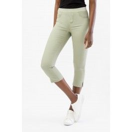 Pull-on Stretch Capris