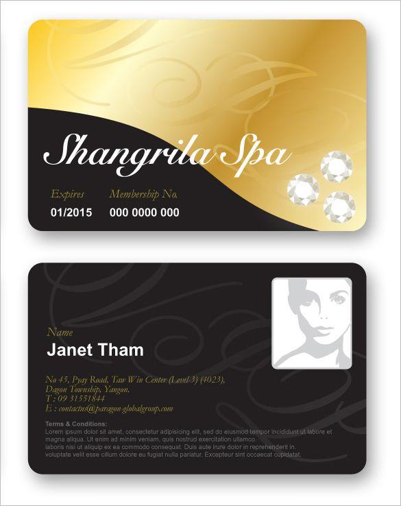 Membership Card Template Check More At Https Nationalgriefawarenessday Com 10527 Membership C Free Business Card Templates Card Templates Free Card Templates